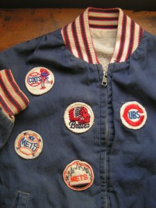 My baseball jacket looked a little like this